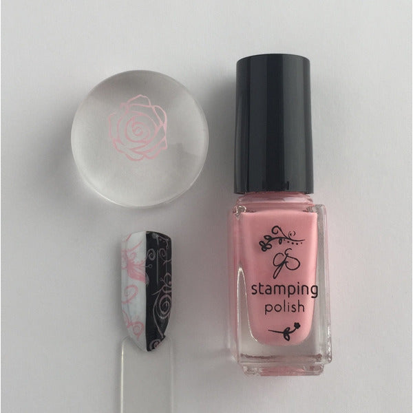 Clear Jelly Stamper Polish - #21 Bubble Pop Pink