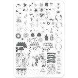 Clear Jelly Stamper Plate - Save The Bees (1345929510991)
