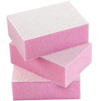 Silkline Mini Disposable Buffing Blocks Pink 50pk