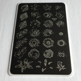 Clear Jelly Stamper Plate - Full On Floral (169806528518)