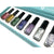 Clear Jelly Stamper Polish Kit - Holo (7 Colours)