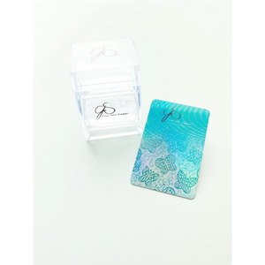 Clear Jelly Stamper - Bling Cubed