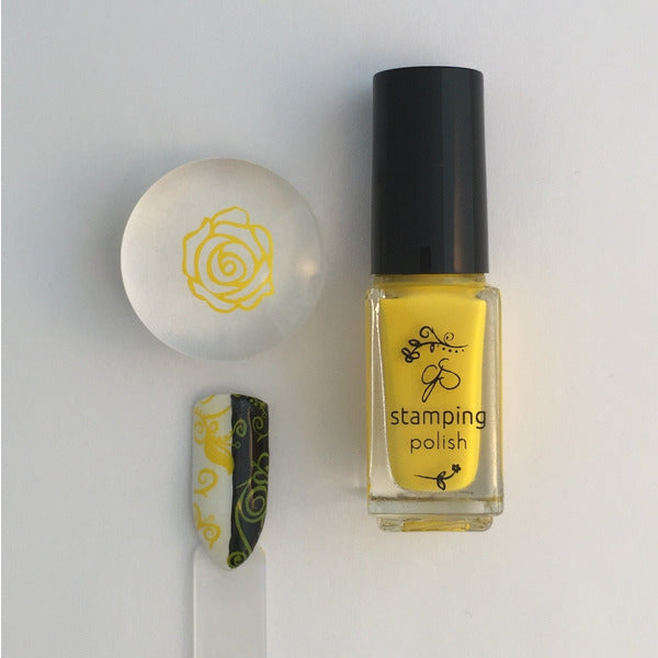 Clear Jelly Stamper Polish - #08 You Are My Sunshine