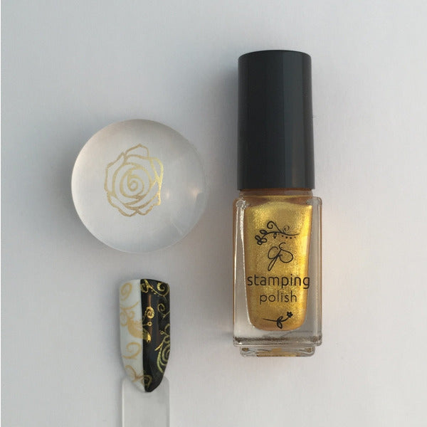 Clear Jelly Stamper Polish - #03 All That Glitters