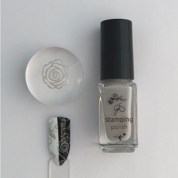 Clear Jelly Stamper Polish - CJS15 Stone Cold