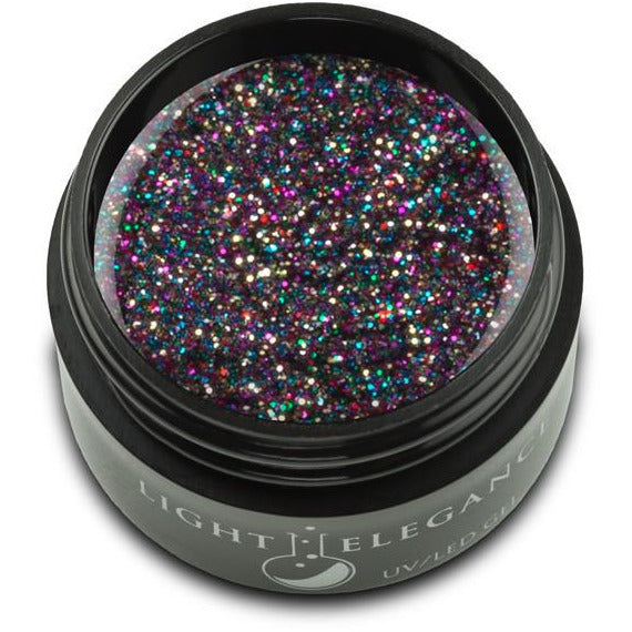 Light Elegance Glitter Gel - Licorice UV/LED
