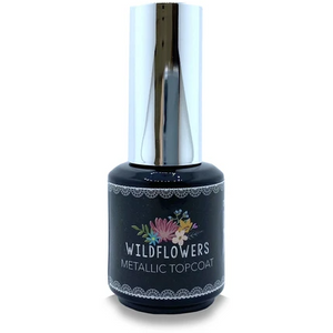 Wildflowers Gel - Tack-Free Metallic Topcoat