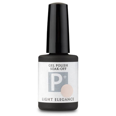 Light Elegance P+ Soak Off Gel - Cream, No Sugar
