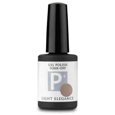 Light Elegance P+ Soak Off Gel - Earl Grey