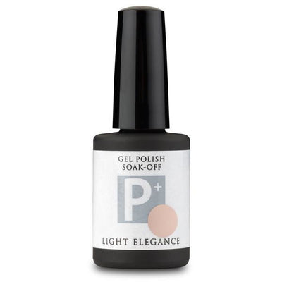 Light Elegance P+ Soak Off Gel - Nude With Attitude