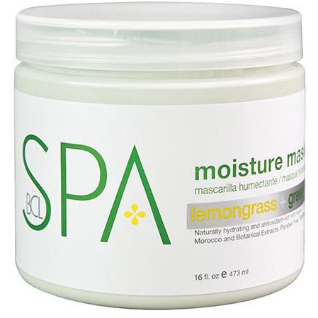 BCL Spa Moisture Mask - Lemongrass & Green Tea
