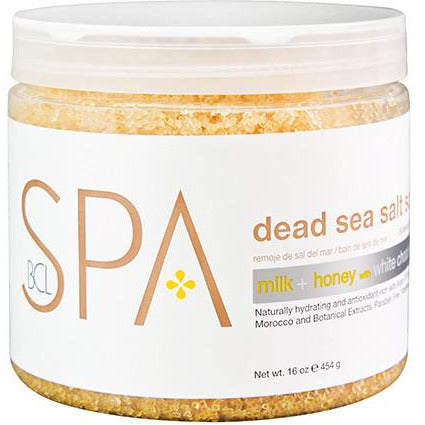 BCL Spa Salt Soak - Milk & Honey with White Chocolate