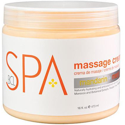 BCL Spa Massage Cream - Mandarin & Mango