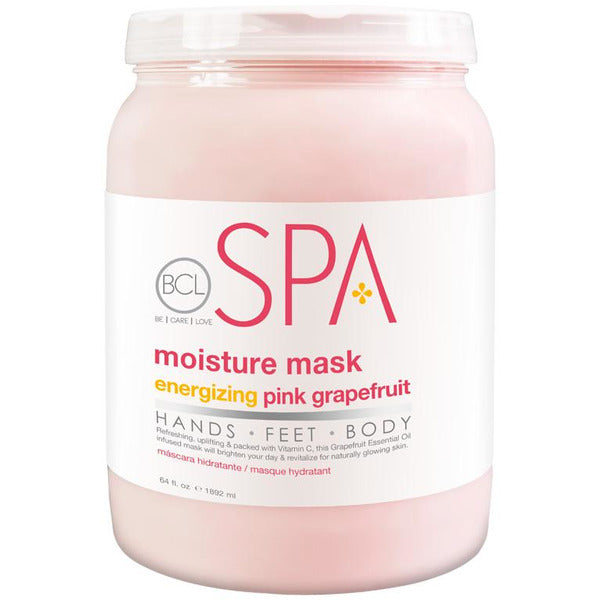 BCL Spa Moisture Mask - Energizing Pink Grapefuit