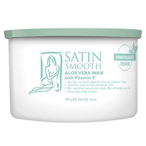 Satin Smooth Wax - Aloe Vera Cream (4366420102)