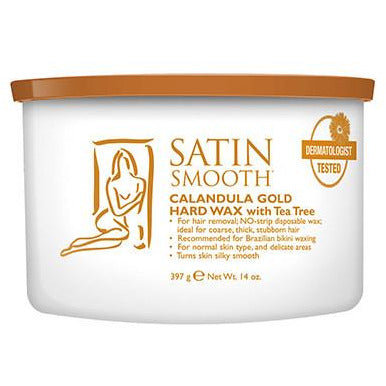 Satin Smooth Hard Wax - Calendula Gold with Tea Tree