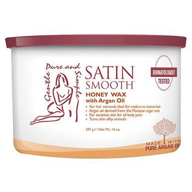 Satin Smooth Wax - Organic Honey with Argan Oil