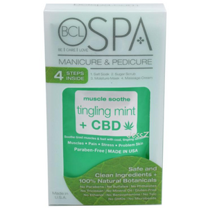 BCL Spa 4 Step Packette - Tingling Mint + CBD