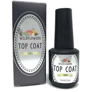 Wildflowers Gel - Top Coat Gel