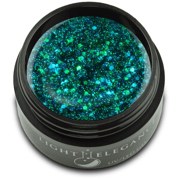 Light Elegance Glitter Gel - Gaudy But Gorgeous UV/LED - Winter 2020 **NEW ITEM**