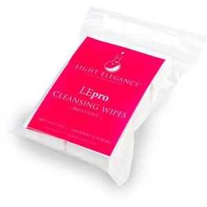 Light Elegance LEpro Lint-Free Cleansing Wipes 360 Count (4229994246)