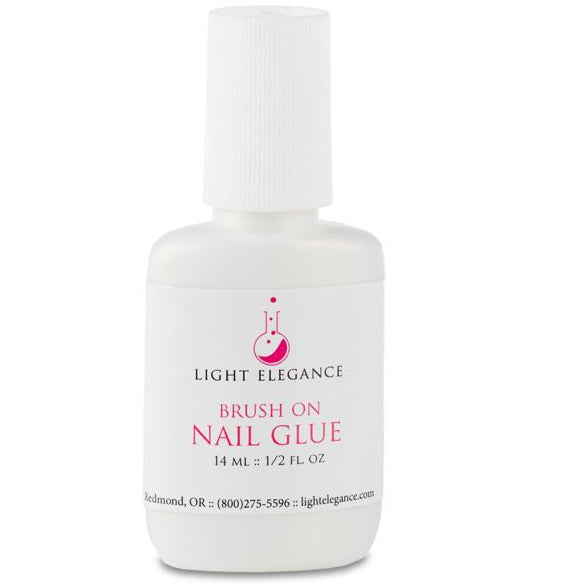 Light Elegance Brush on Nail Glue