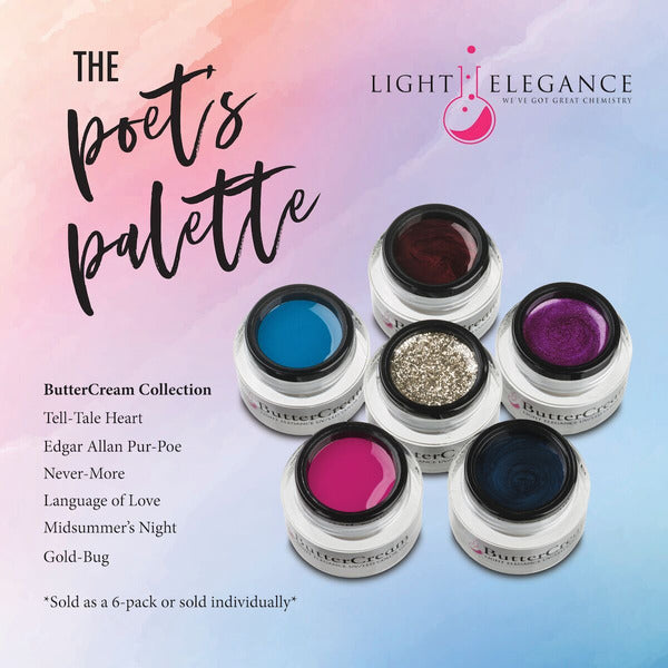 Light Elegance ButterCreams Kit LED/UV - Poet's Palette