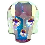 Swarovski Elements - #2856 Crystal AB Skull (40554954758)