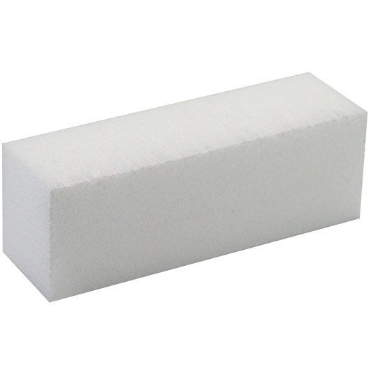 White Buffer Block - Coarse 80/150