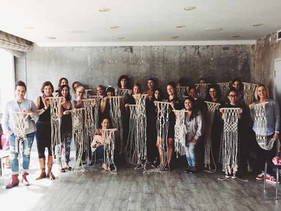 Macrame Workshop in Palm Springs