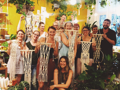 Macrame Workshops in 2017