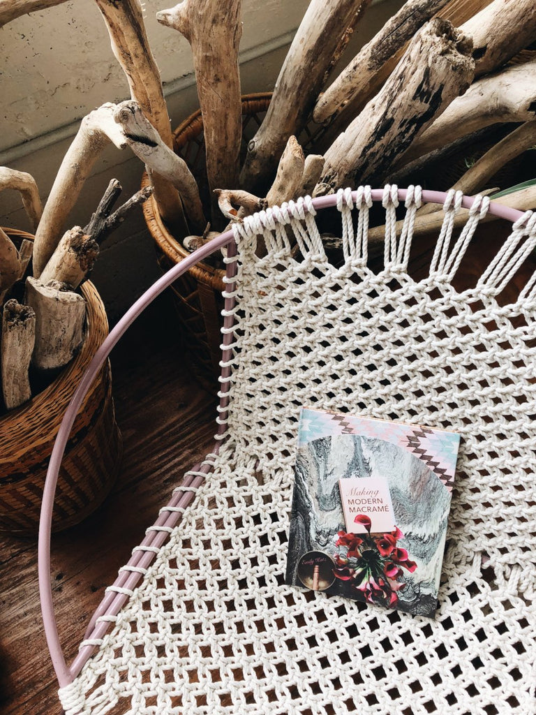 Modern Macrame and Blurb Books