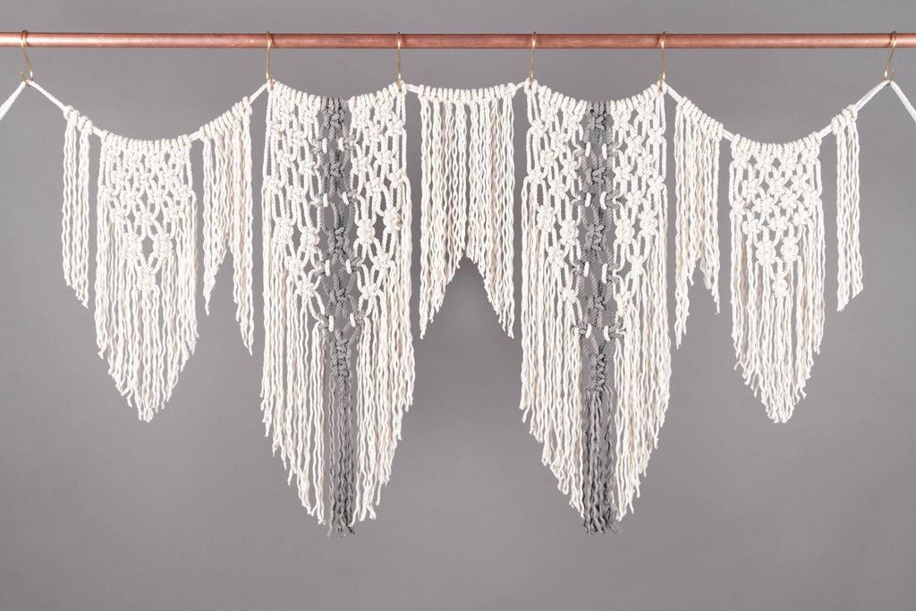 From Our Book The Celebration Garland Modern Macrame