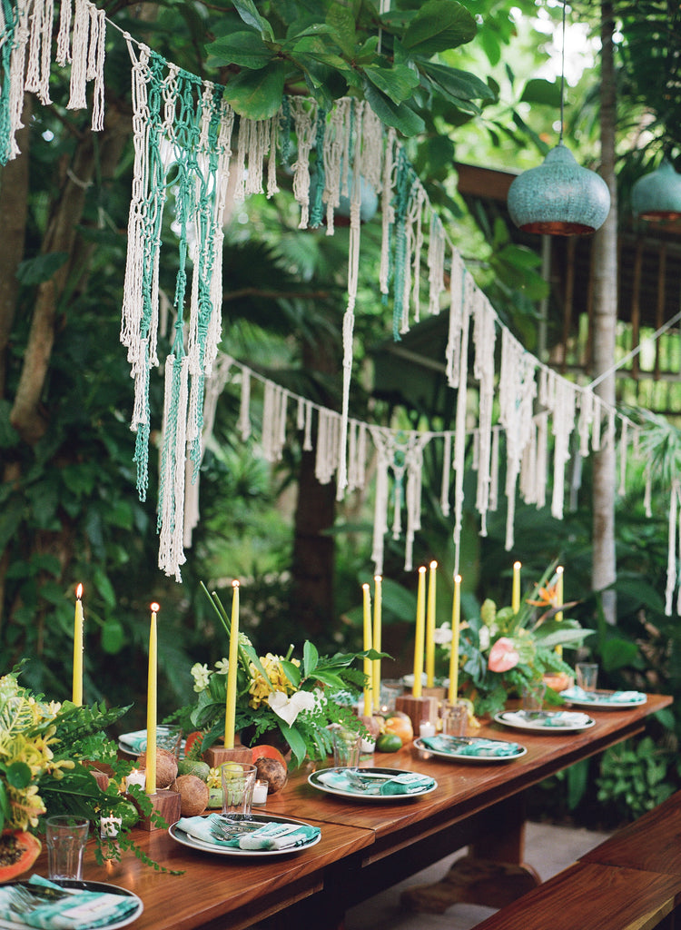 Modern Macrame Wedding Diy