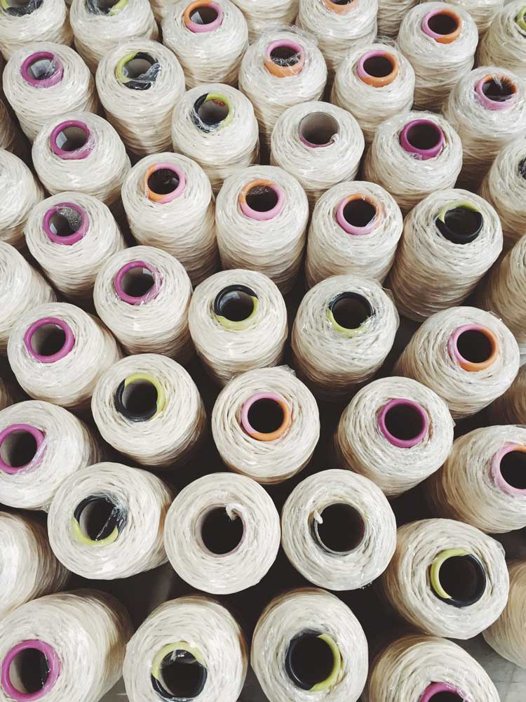 String Spools, Our Rope Story, Modern Macramé Where our rope comes from