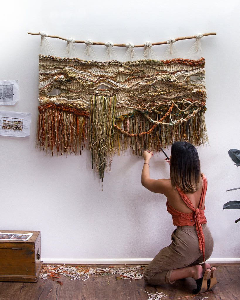 Crossing Threads Modern Macrame Blog Post Fiber Artist Feature