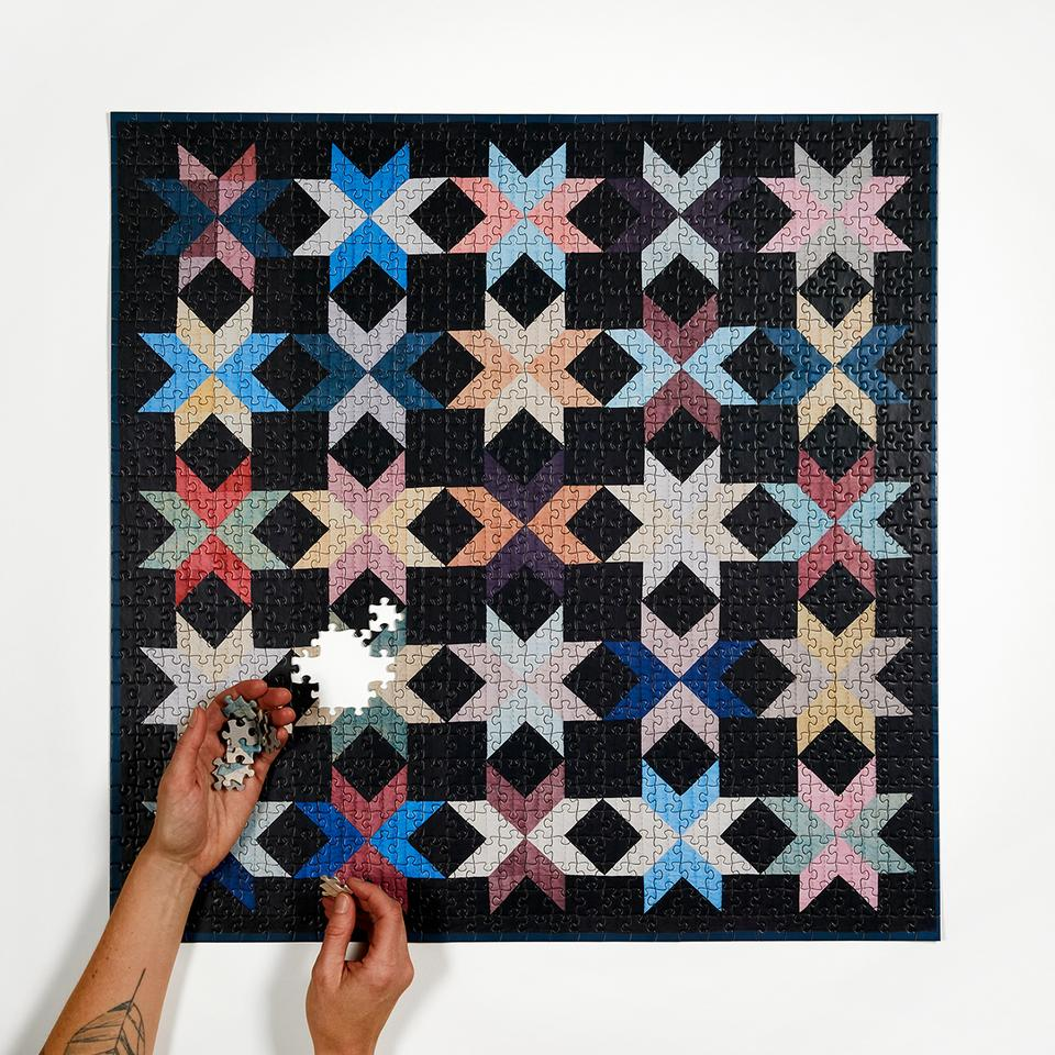 Four Point Quilted Puzzle