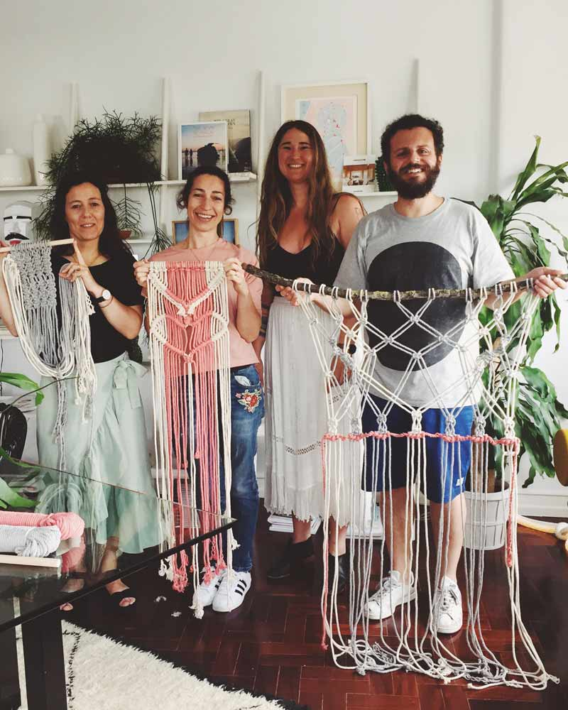 Lisbon Macrame workshop