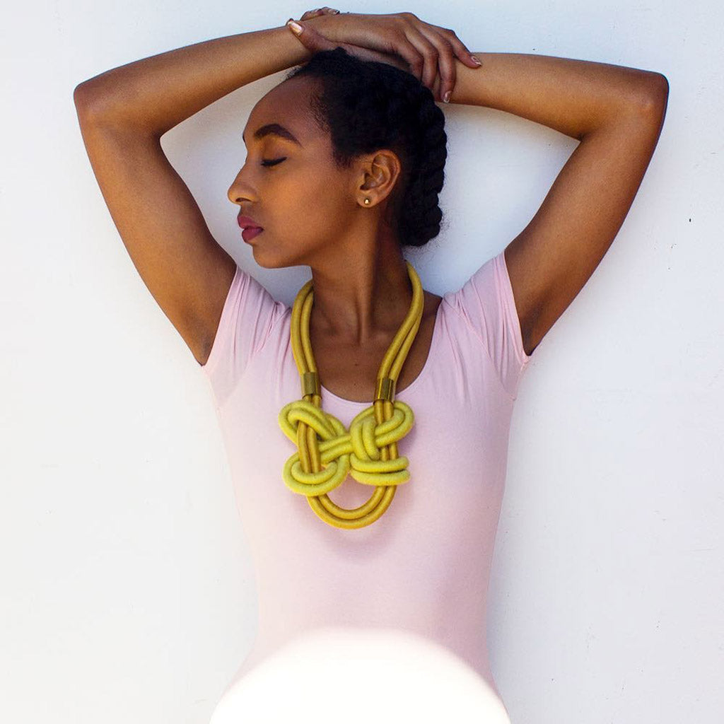 Lise Silva Gomes' Sacred Knots jewelry collection