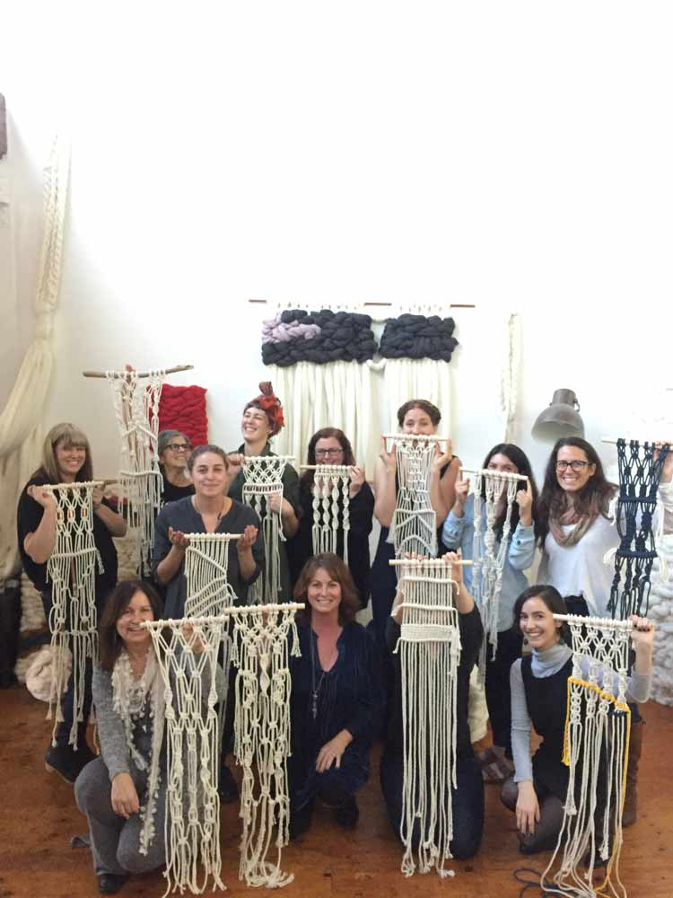 meghan Shimek Oakland Macrame workshop