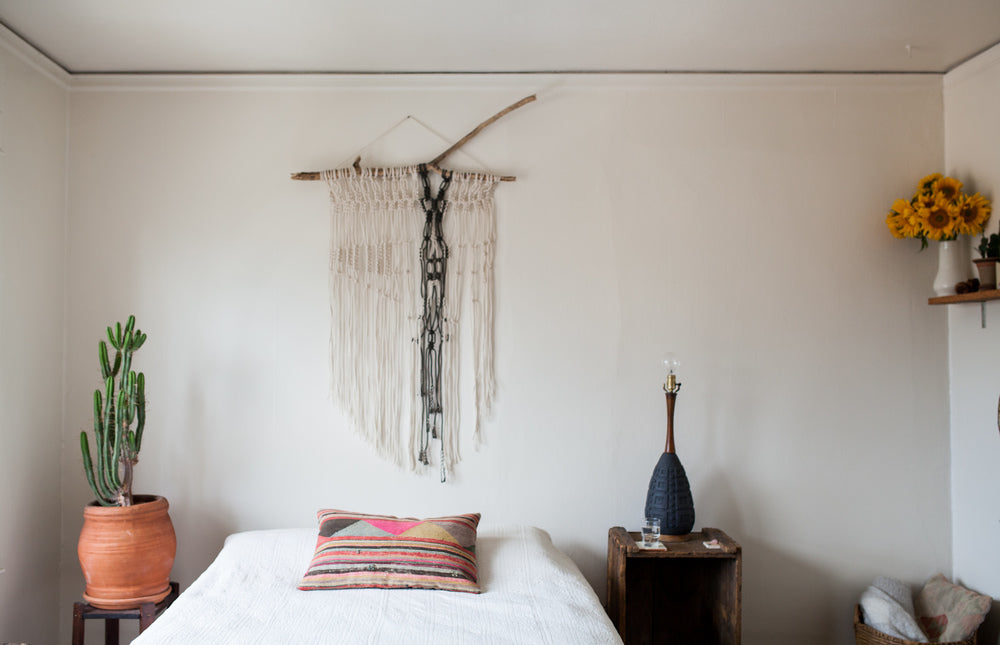 Macrame over the bed