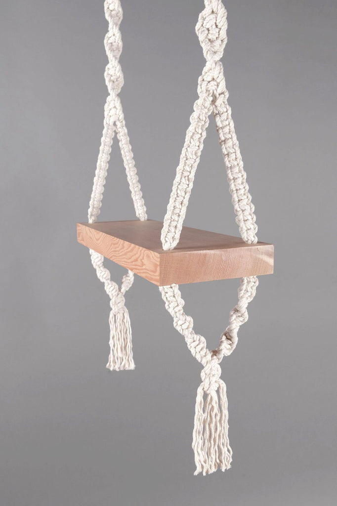 Rope Swing CloseUp DIY - Modern Macramé Book Projects