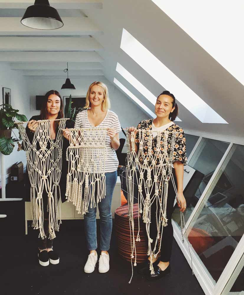 stockholm macrame workshop