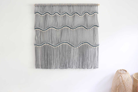 DIY Macrame wall hanging pattern