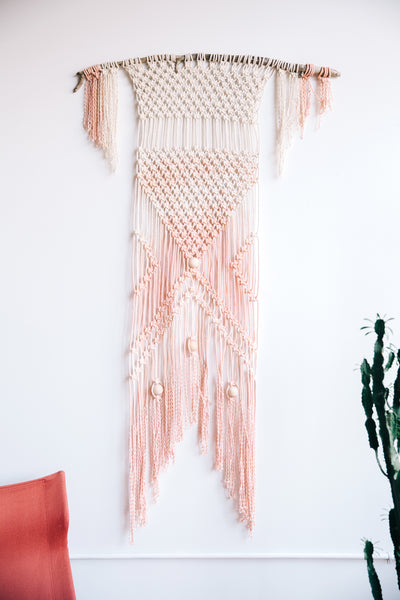 hand dyed macrame from Modern Macrame