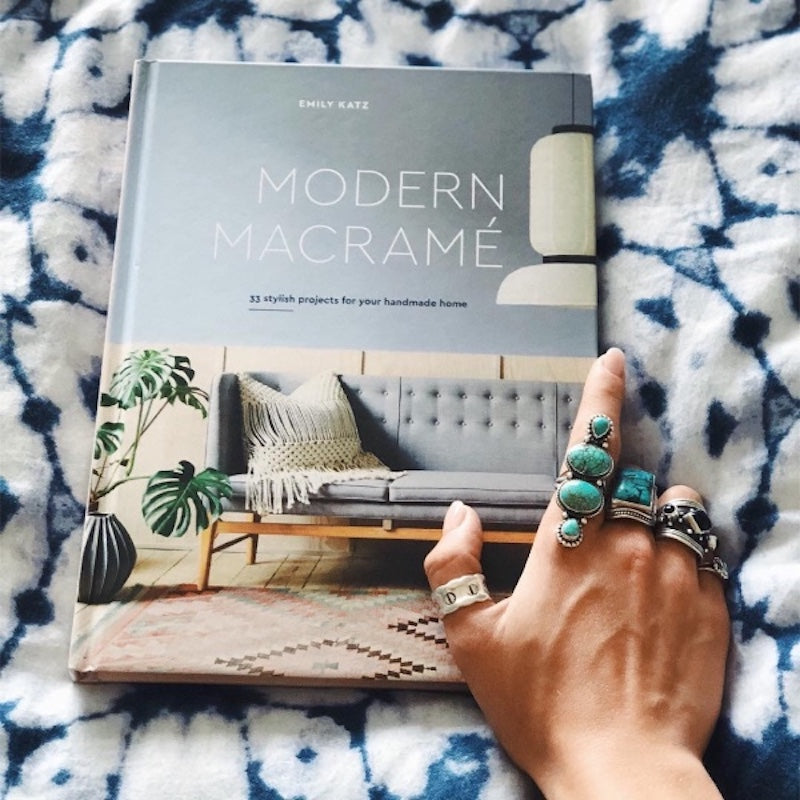 Modern Macrame Book 33 Projects for Your Handmade Home