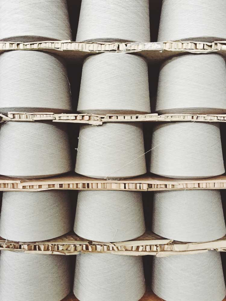 Rope Spools, Our Rope Story, Modern Macramé Where our rope comes from
