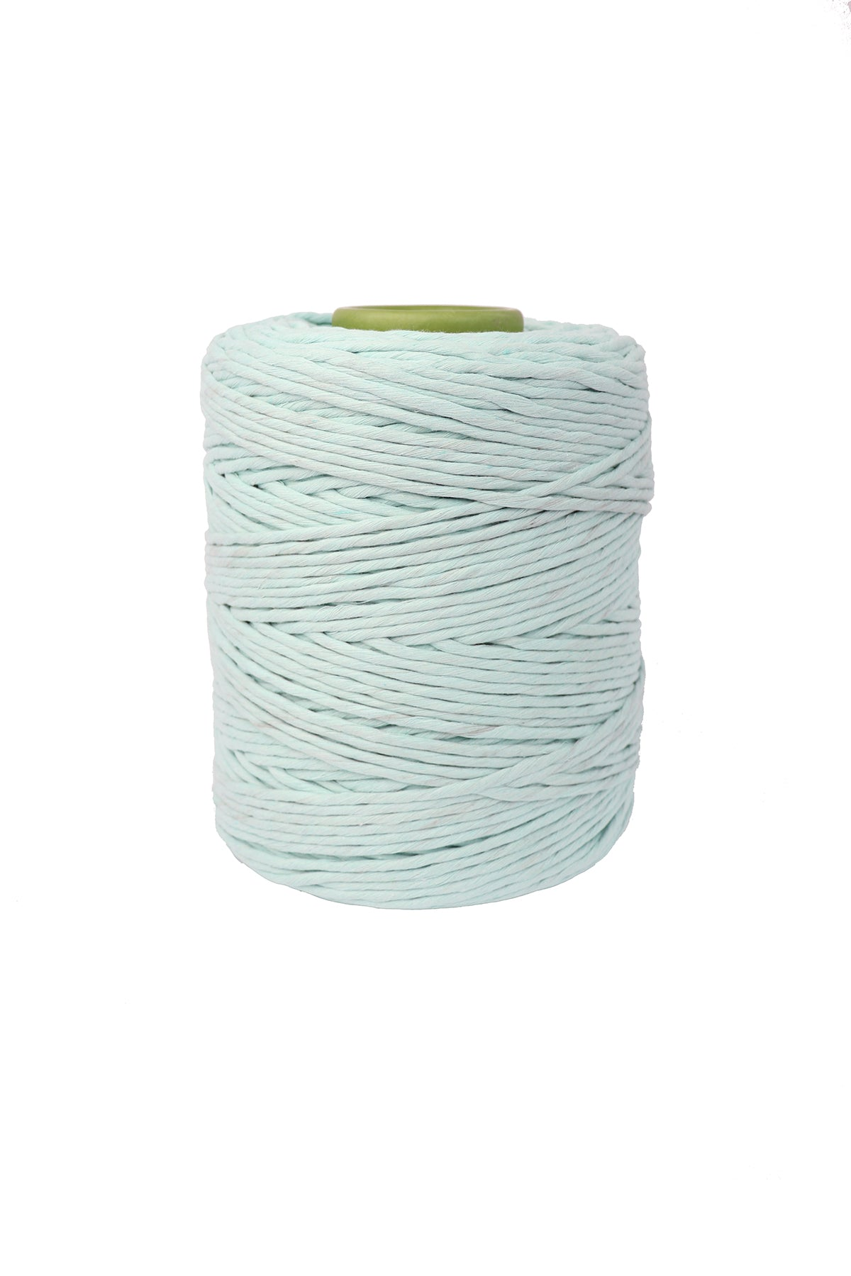 4mm 100% Cotton single ply String in 20 vibrant colors for Macrame and craft