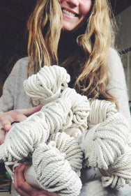 12 bundles of cotton rope bulk for artists and makers