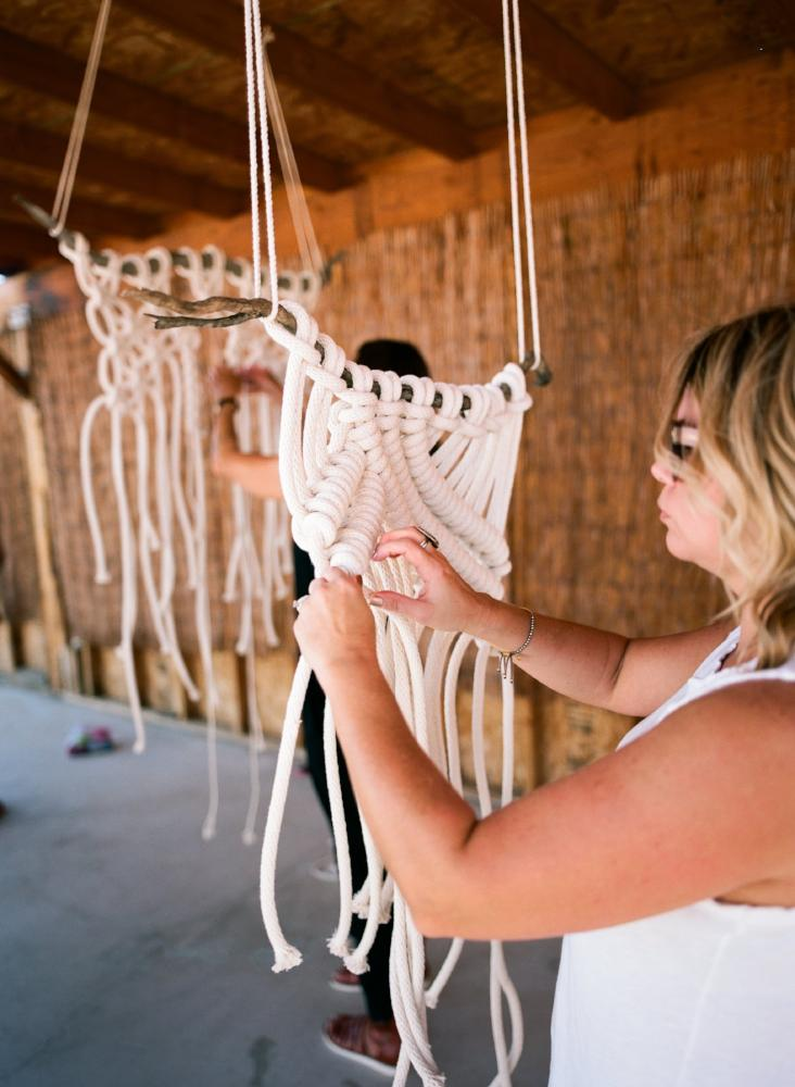Learn Macrame wall hangings with Emily Katz from Modern Macrame